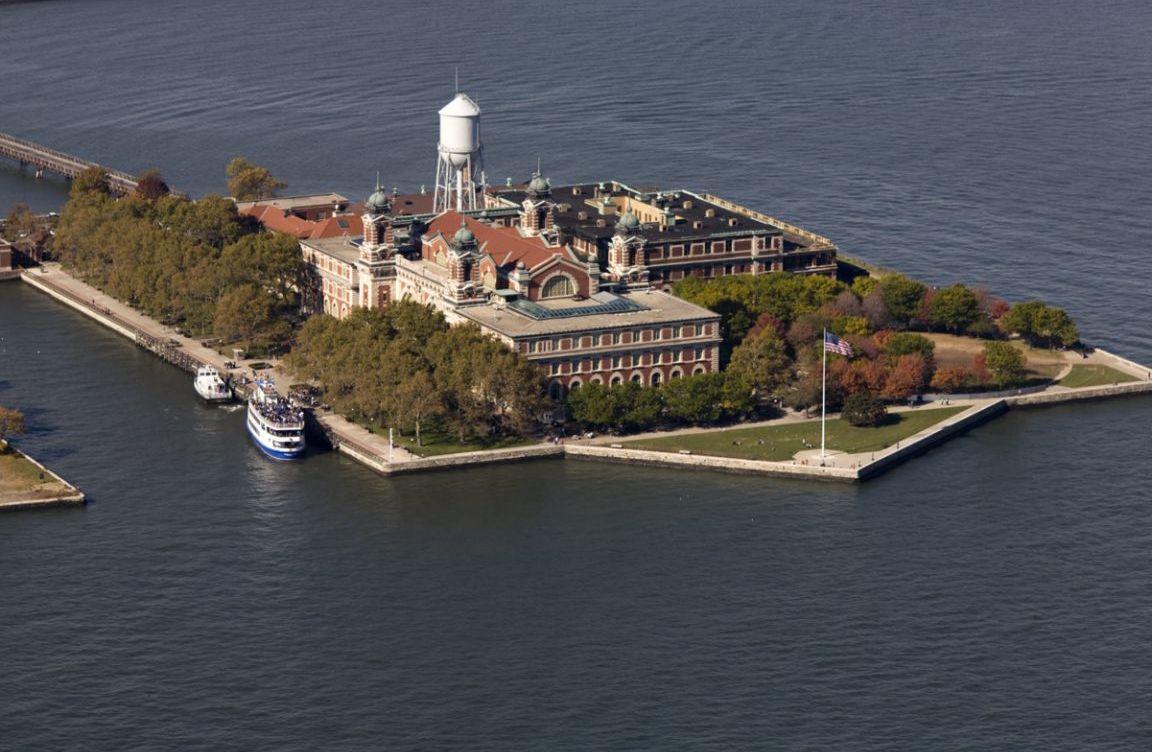 Tartan Day On Ellis Island Scots In The American West ScotsUSA - Map of new york ellis island