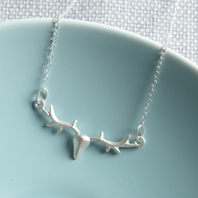 Silver Anter Necklace