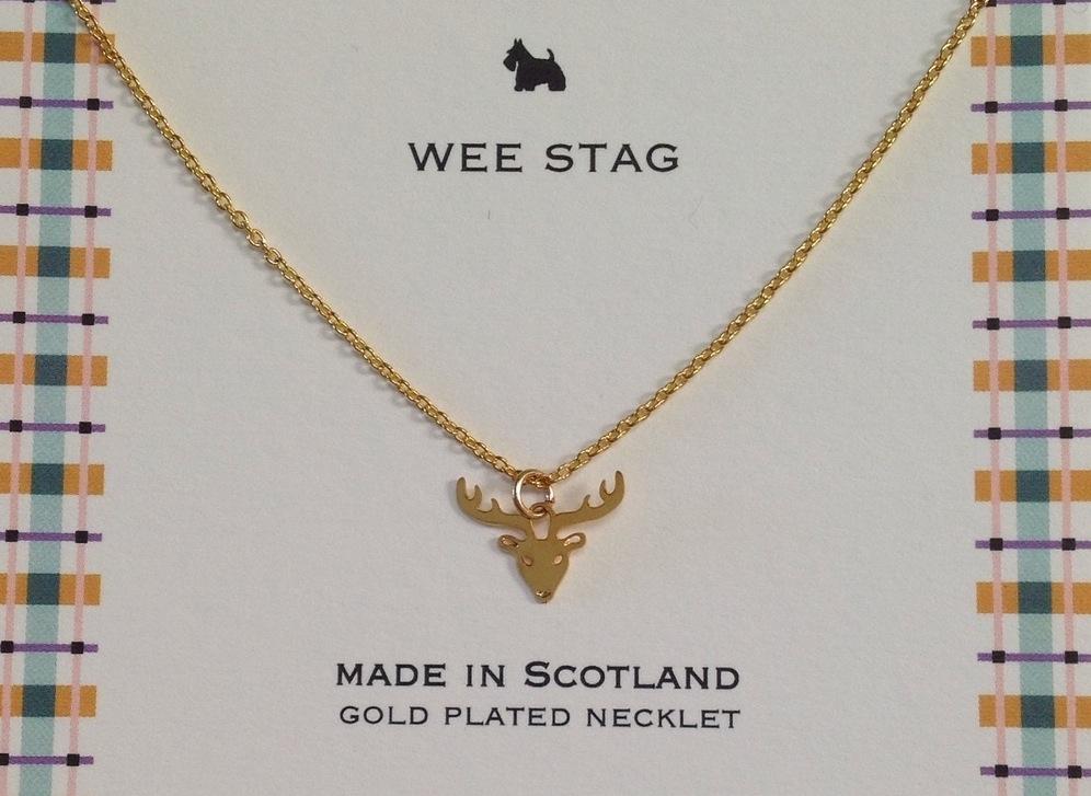 Stag Gold Necklet