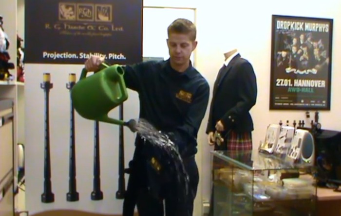 Weather Resistant Bagpipe Cover
