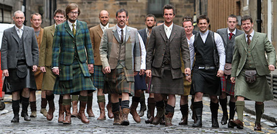 21st Century Kilts present a more contemporary look with their kilts.