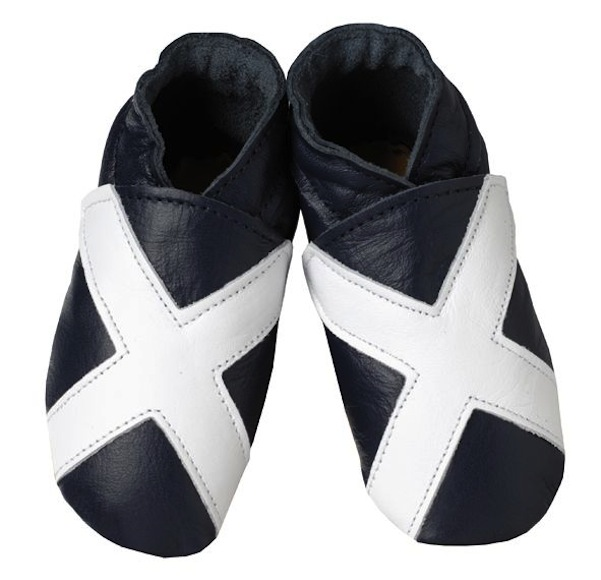Scotland Shoes Flag