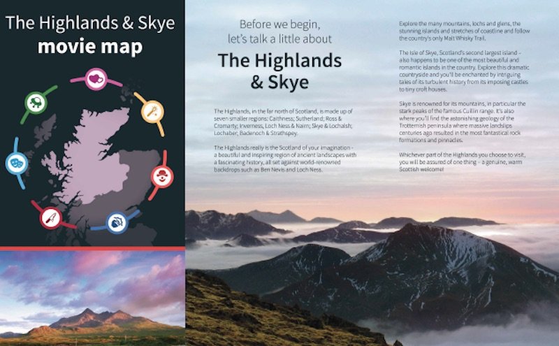 Download Free Movie Map of the Highlands - ScotsUSA
