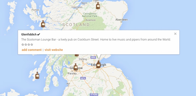 World Whisky Map