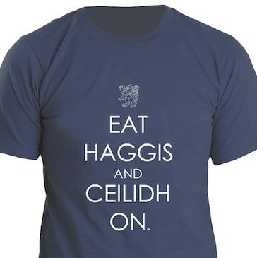 Eat Haggis T-Shirt - $35.00