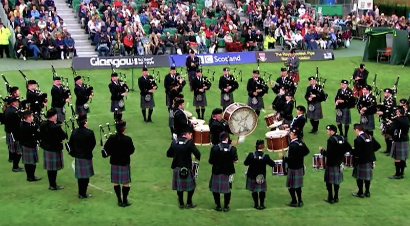Spirit of Scotland Pipe Band