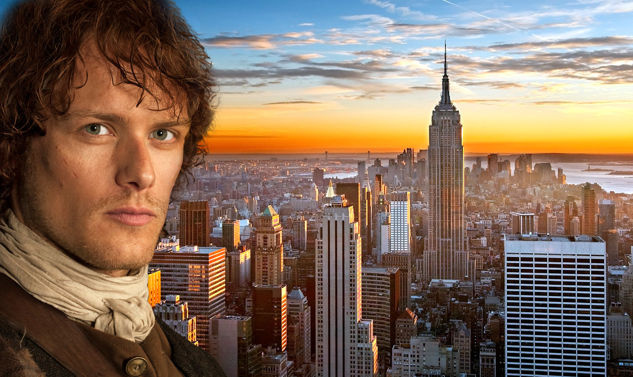 Sam heughan boyfriend sean bell - Fun Facts About Sam Heughan Grand Marshall Of The 2016 Ny Tartan Day Parade Scotsusa