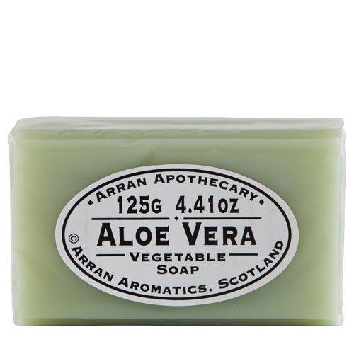 Arran-Aromatics-of-Scottland-Apothecary-Line-Aloe-Vera-Vegetable-Soap-125g441-Oz-0