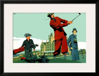 Cruden-Bay-Framed-Giclee-Poster-Print-by-Frank-Newbould-35×27-0