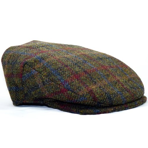 Hanna Hats Harris Tweed Vintage Flat Cap - ScotsUSA f259996b915