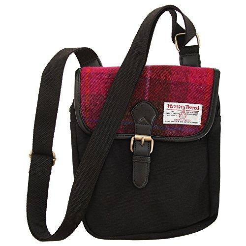 Harris-Tweed-Authentic-Premium-Buckle-Up-ShoulderMessenger-Bag-0