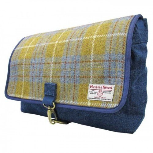Harris-Tweed-Mens-Authentic-Premium-Shoulder-Strap-Despatch-Bag-0