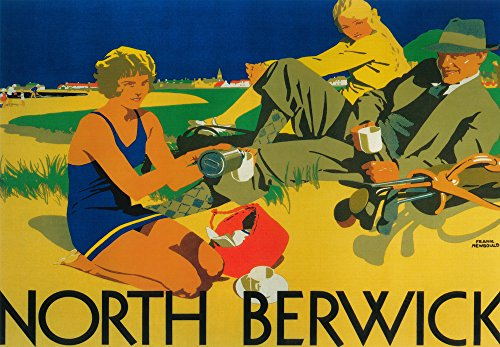 North-Berwick-Scotland-Golf-Coast-Promotional-Poster-0
