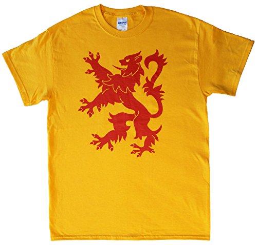 2e299c59e Scotland Rampant Lion T-Shirt - ScotsUSA