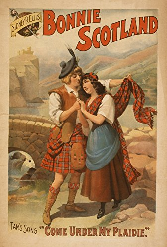 Sidney-R-Ellis-Bonnie-Scotland-Scottish-Play-Poster-2-0