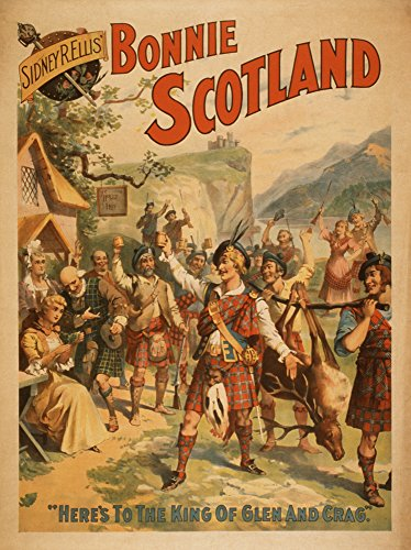 Sidney-R-Ellis-Bonnie-Scotland-Scottish-Play-Poster-4-0