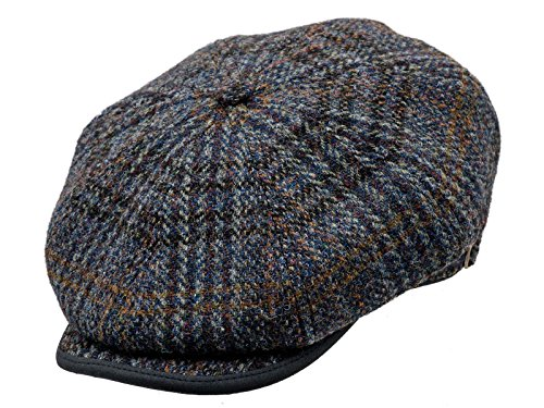 Sterkowski-Harris-Tweed-8-Panel-Gatsby-Classic-Flat-Cap-0